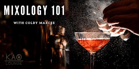 Mixology 101 @ KAO Lounge tickets