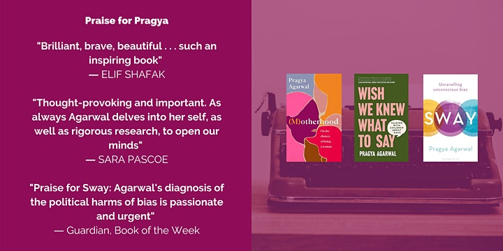 Writer as Activist: Writing Your Ideas Into The World w/ Dr. Pragya Agarwal image