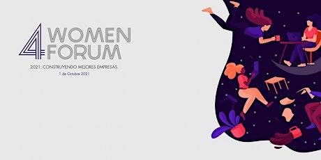 4Women Forum 2021: España boletos