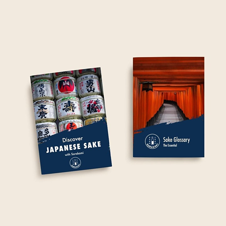 Discover Japanese Sake   Online Sake Tasting with Sake Sommelier. image