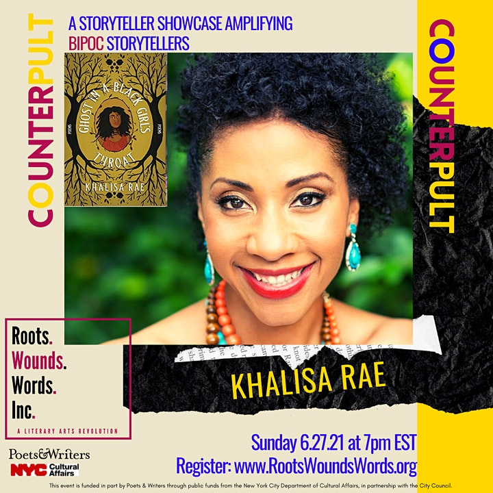 COUNTERpult: A Roots. Wounds. Words. Storyteller Showcase (June 2021) image