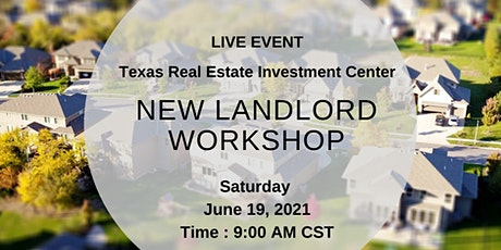 New Landlord Workshop (Live Event) tickets