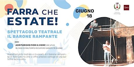 Spettacolo teatrale | Il Barone rampante di Italo Calvino biglietti