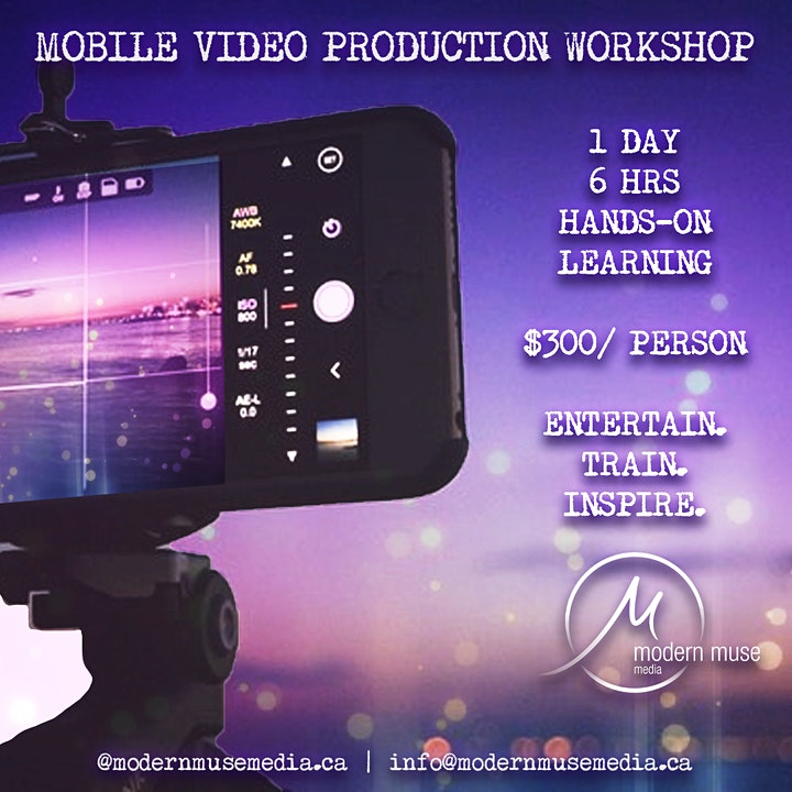 ONLINE Mobile Video Production Workshop image
