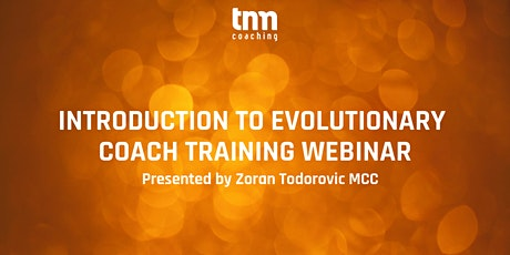 Introduction to Evolutionary Coaching Webinar tickets
