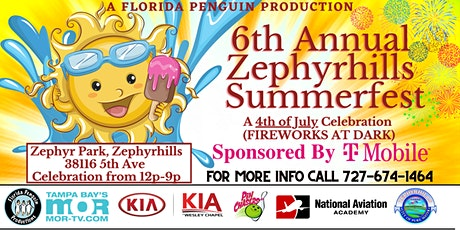 Zephyrhills Summerfest - 4th of July Fireworks Sho tickets