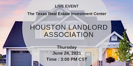 Houston Landlord Association (Live Event) tickets