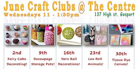 FREE Craft Yourself Happy Club tickets