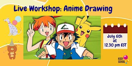 Virtual Class: Anime Drawing tickets