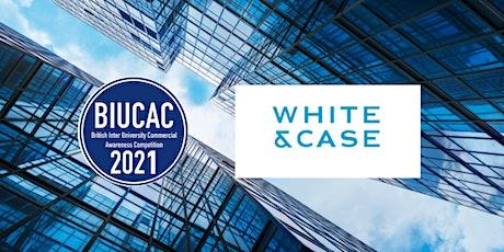 White & Case Trainee Panel Webinar tickets