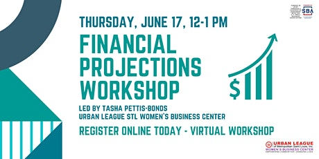 Financial Projections  Virtual Workshop tickets
