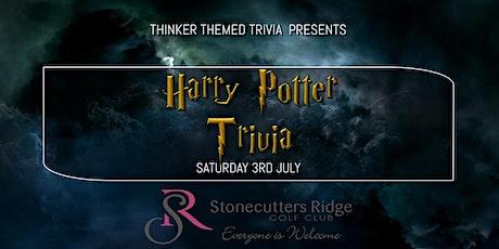 Harry Potter Trivia - Stonecutters Ridge Golf Club tickets