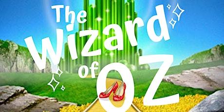 Wizard of Oz Saturday, Oct 23 , 2021 7:30 tickets