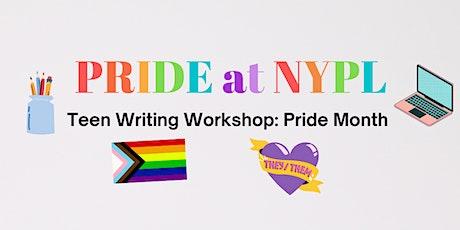 Teen Writing Workshop: Pride Month tickets