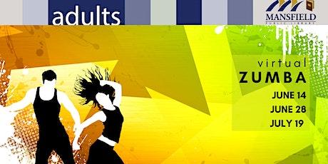 Virtual Zumba tickets