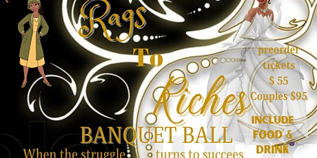 Rags to Riches Banquet Ball tickets