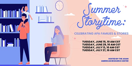 Summer Storytime: Celebrating APA Families & Stories tickets
