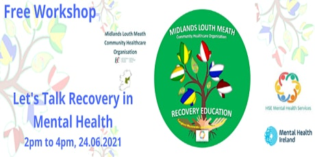 Lets Talk Recovery in Mental Health tickets