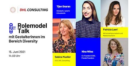 Rolemodel  Talk  3 -  mit Gestalterinnen im Bereich Diversity Tickets