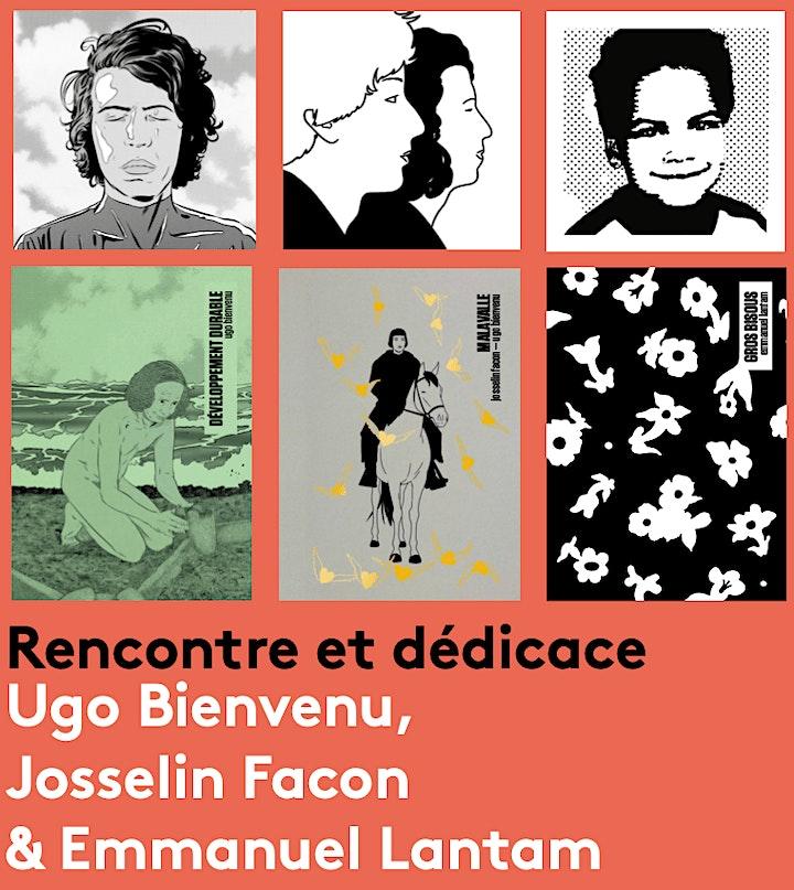 Image pour Rencontre dédicace avec Ugo Bienvenu, Josselin Facon et Emmanuel Lantam