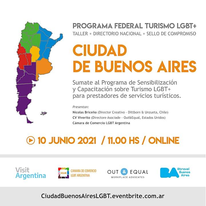 Imagen de CIUDAD DE BUENOS AIRES :: PROGRAMA FEDERAL TURISMO LGBT+