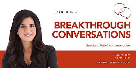 Lean In Toronto: Having Breakthrough Conversations tickets