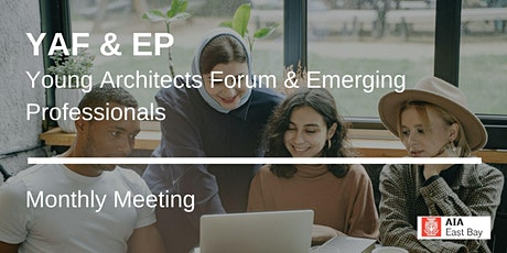 AIAEB YAF & EP (Young Architects & Emerging Professionals) Meeting tickets