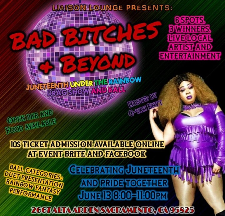 Bad Bitch's and Beyond Presents: Juneteenth Under the Rainbow image
