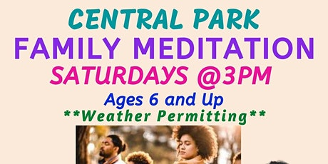 Central Park Family Meditation tickets