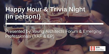 Happy Hour & Trivia Night tickets