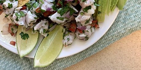 Ceviche & Tostadas - $5  Seasonal Summer Soups or Salads tickets