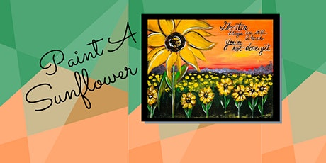 Virtual Paint Class: Painting Sunflowers tickets