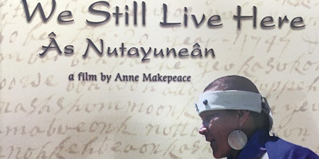 """Film & Discussion LIVE! """"We Still  Live Here"""" tickets"""