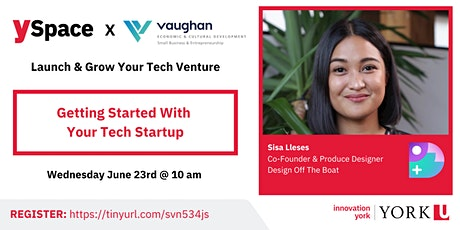 Launch & Grow Your Tech Venture | Validating Your Concept tickets