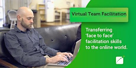 Virtual Facilitation Masterclass August 2021 tickets