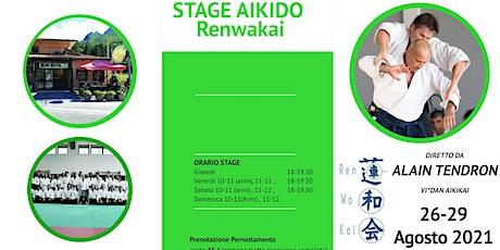 STAGE AIKIDO M. TENDRON - Gorfigliano (LUCCA) biglietti