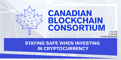 STAYING SAFE WHEN INVESTING  IN CRYPTOCURRENCY tickets