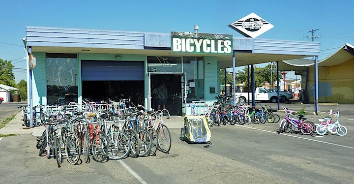 Lucky to Ride Lucky Bikes Re-Cyclery Open House image