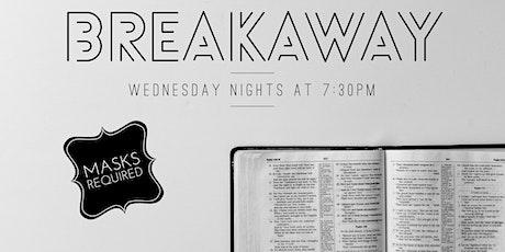 Breakaway Bible Study tickets