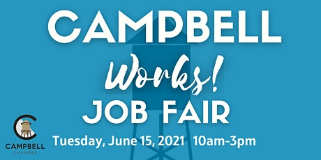 Campbell Works Job Fair tickets