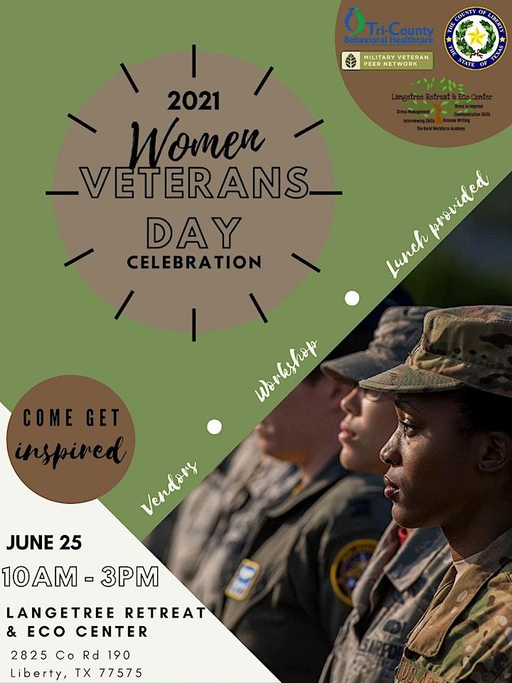 Liberty Women Veterans Day Celebration image