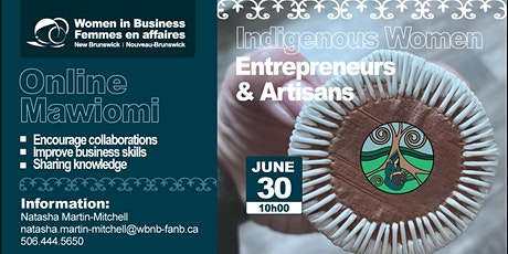 WBNB Online Mawiomi for Indigenous Women Entrepreneurs tickets