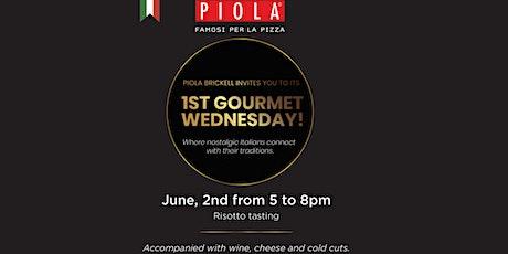 Piola Gourmet Wednesday - Italian Delicacies Tasting tickets