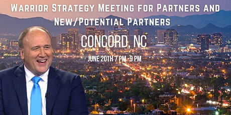 Warrior Strategy Meeting for Partners and New/Potential Partners - Concord tickets