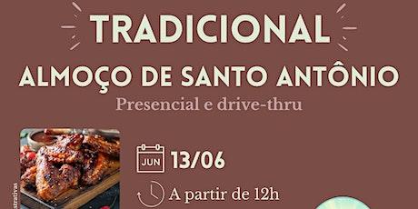Almoço solidário em comemoração ao Dia de Santo Antônio ingressos