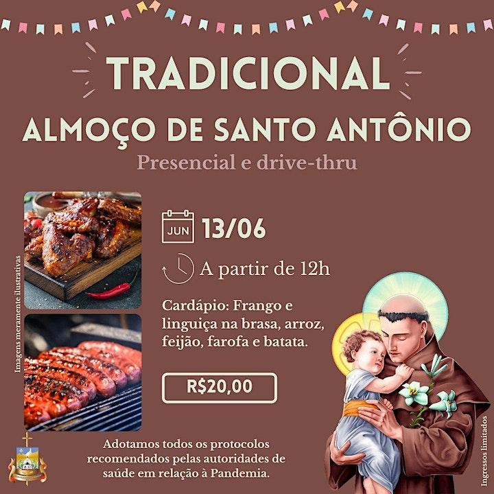 Imagem do evento Almoço solidário em comemoração ao Dia de Santo Antônio