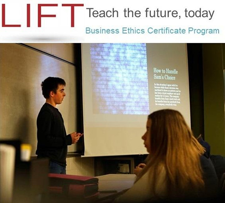 2021 LIFT Business Ethics Certificate Program image