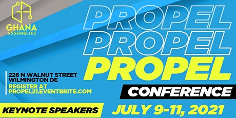 Propel Confrence 2021 tickets