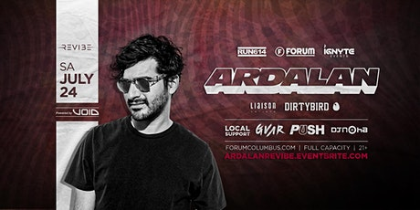ARDALAN presented by REVIBE at The Forum tickets