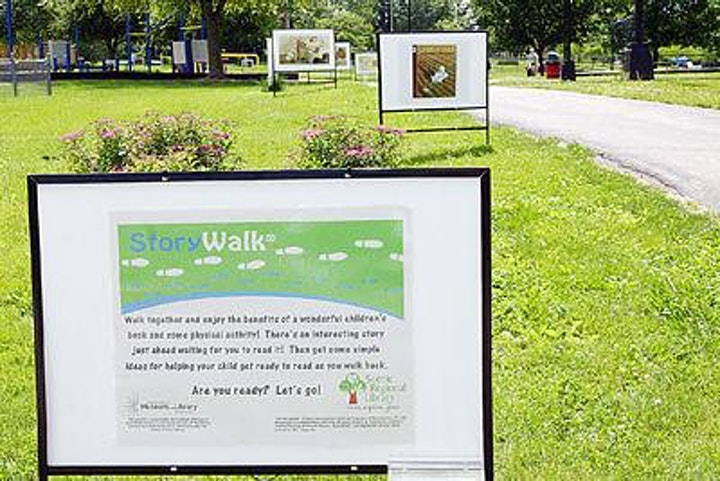 PRC's Storywalks  in the Park image